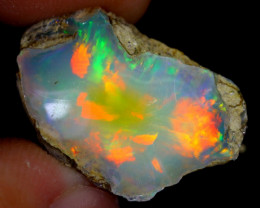 10cts Natural Ethiopian Welo Rough Opal / WR4042