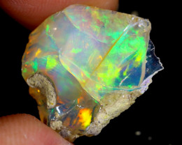 7cts Natural Ethiopian Welo Rough Opal / WR4049