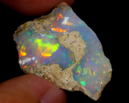 9cts Natural Ethiopian Welo Rough Opal / WR4051