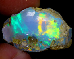 11cts Natural Ethiopian Welo Rough Opal / WR4056