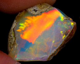 6cts Natural Ethiopian Welo Rough Opal / WR4059