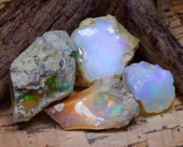 50.10Ct Bright Color Natural Ethiopian Welo Opal Rough DT0420