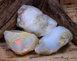 50.29Ct Bright Color Natural Ethiopian Welo Opal Rough DT0422