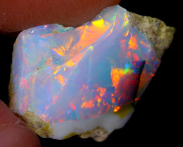6cts Natural Ethiopian Welo Rough Opal / WR4064