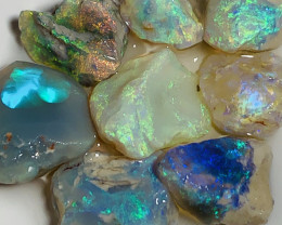 NOBBY- BRIGHT ROUGH NOBBY OPALS TO CUT #1503