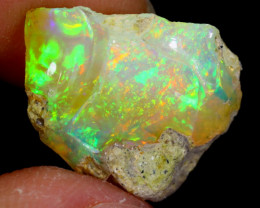 7cts Natural Ethiopian Welo Rough Opal / WR4075