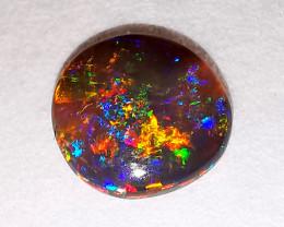 Lightning Ridge Australia - Solid Black Crystal Opal - 0.44 cts