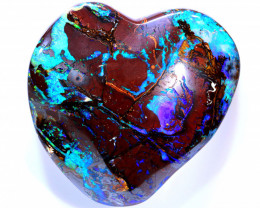 615 CTS YOWAH OPAL NUT -COLOURFUL HEART COLLECTOR INV-1815