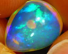 Welo Opal 3.04Ct Natural Ethiopian Play of Color Opal HF2820/A44