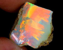 8cts Natural Ethiopian Welo Rough Opal / WR4136