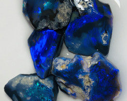Black Opal- Select/Handpicked Very Bright Black Sean Opals #1524