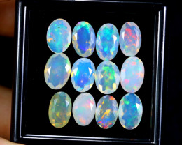 FACETED WELO OPAL  11.09cts Parcel Lot Opal / BF3484