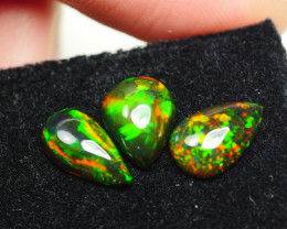 2.470CRT BRILLIANT BRIGHT PARCEL 4 PCS WELO OPAL SMOCKED -