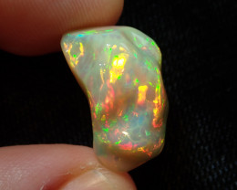 8.14ct Extremely Bright Carved Welo Solid Opal