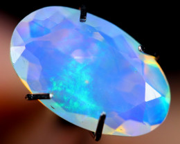 1.47cts Natural Ethiopian Faceted Welo Opal /BF3391