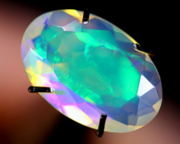 1.31cts Natural Ethiopian Faceted Welo Opal /BF3392