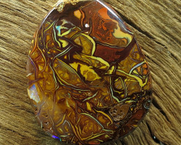 27cts. YOWAH OPAL~OUTBACK QUEENSLAND.