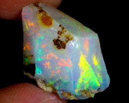 15cts Natural Ethiopian Welo Rough Opal / WR4166