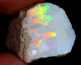 22cts Natural Ethiopian Welo Rough Opal / WR4168