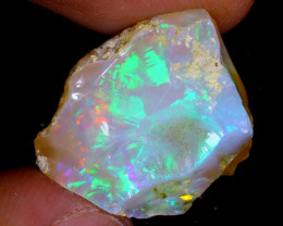 16cts Natural Ethiopian Welo Rough Opal / WR4190