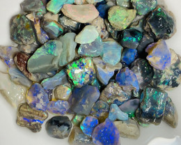 Colourful Nobby Rough Opals- Bright & Multicolour Rough With Potential #153