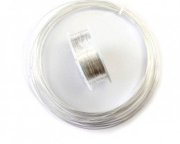 5m Silver Wire | 999 Pure Fine | Nickel Free Tarnish Resistant Stirling Sil