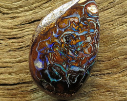 16cts. QUEENSLAND OPAL~NATURAL SOLID STONE.