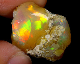 7cts Natural Ethiopian Welo Rough Opal / WR4192