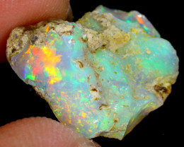 8cts Natural Ethiopian Welo Rough Opal / WR4196