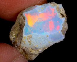 5cts Natural Ethiopian Welo Rough Opal / WR4198