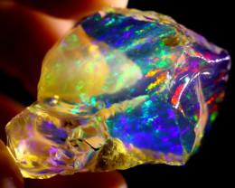 112cts Ethiopian Crystal Rough Specimen Rough / CR2135