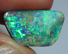 4.0 ct Boulder Opal Natural Beautiful Gem Blue Green Color