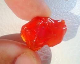 12.67ct Natural Opal Rough Mexican Fire Opal