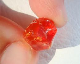 10.35ct Natural Opal Rough Mexican Fire Opal