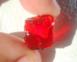 9.81ct Natural Opal Rough Mexican Fire Opal