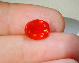 2.9ct Facetted Fire Opal