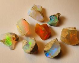 Beautiful Bright  Cutting Rough Ethiopian Opal Lot