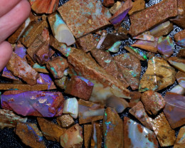 627 CTS BOULDER PIPE OPAL ROUGH PARCEL-22[BY9714]