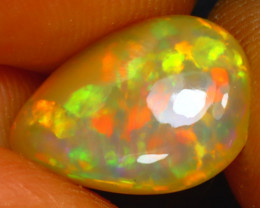 Welo Opal 2.43Ct Natural Ethiopian Play of Color Opal HF0218/A44
