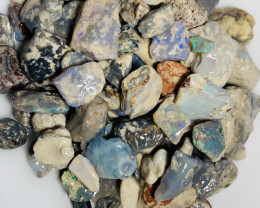 Straight off the field - 900 CTs Dark Rough Nobby Opals#1556