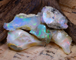 Welo Rough 50.60Ct Natural Ethiopian Play Of Color Rough Opal D0204