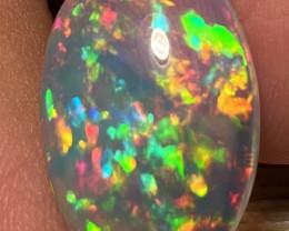 7.24 CT Broad Patchwork Pattern!! Welo Ethiopian Opal-MA125