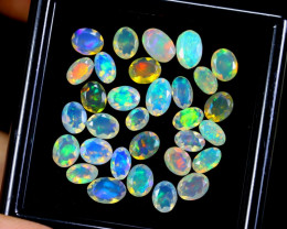 FACETED WELO OPAL  5.37cts Parcel Lot Opal / BF3666