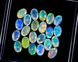 FACETED WELO OPAL 6.48cts Parcel Lot Opal / BF3667