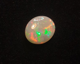 Australian Solid Light Opal. Polished Gemstone