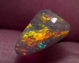 The fire in the mountain!! super bright Lighting Ridge dark Opal