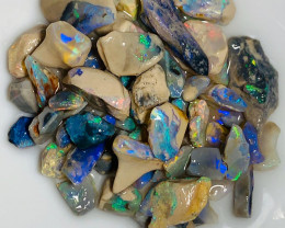 Little Nobby Rough Opals - Multicolour Bright Little Crystals