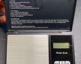 Digital Pocket Scale 500 Gram X 0.1 gram   CCC 122