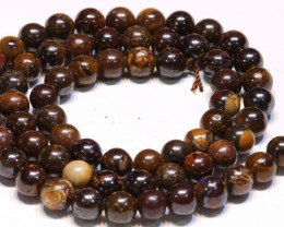 114 CTS BOULDER OPAL BEADS STRANDS TBO-4805