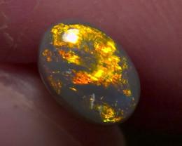 Lighting Ridge Solid Black Opal Muitiple Gem colors